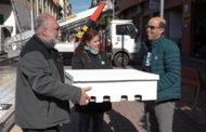 Benicarló; instal.lació de noves caixes niu per a falcilles 22/03/2018