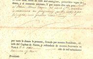Vinaròs, es recuperen documents històrics de l'any 1830