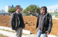 Benicarló; visita als treballs que s'estan portant a terme al Jardí de la Mar 22/03/2018