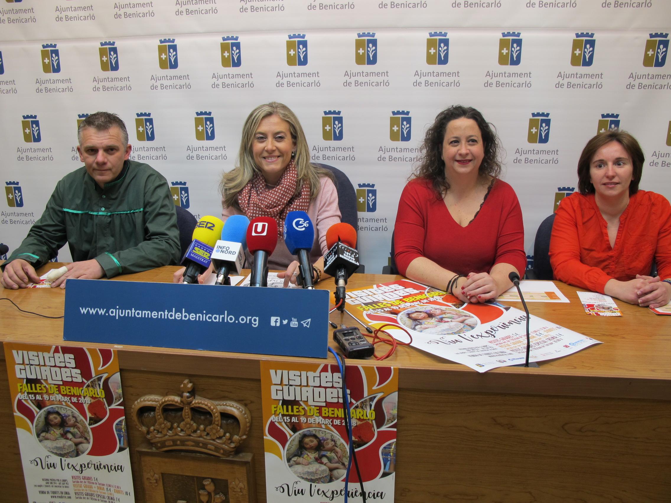 Benicarló organitzarà del 15 al 19 de març visites guiades als monuments fallers
