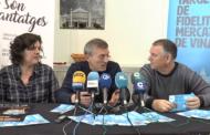 Vinaròs; roda de premsa de la Regidoria de Comerç (Mercat Municipal) 20-03-2018