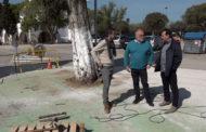 Benicarló; Visita a la construcció d'una rotonda a l'ermita de Sant Gregori 18-04-2018