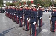 Benicarló; La Guardia Real realitza un passacarrer i una  demostració amfibia en la seua visita a Benicarló 20-04-2018