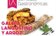 Peniscola, 19 restaurants participen en les Jornades Gastronòmiques de la Galera, Llagostí i Arròs