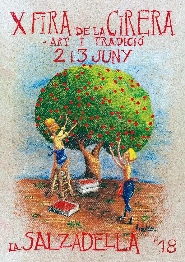 La Salzadella es prepara per celebrar els dies 2 i 3 de juny la Fira de la Cirera