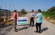 Alcalà, es renova la canonada principal de l'aigua potable