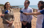 Les senadores del PP visiten Alcossebre per comprovar l'estat del litoral
