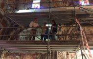 Catí, la Diputació treballa en la restauració de l'ermita de la Mare de Déu l'Avellà