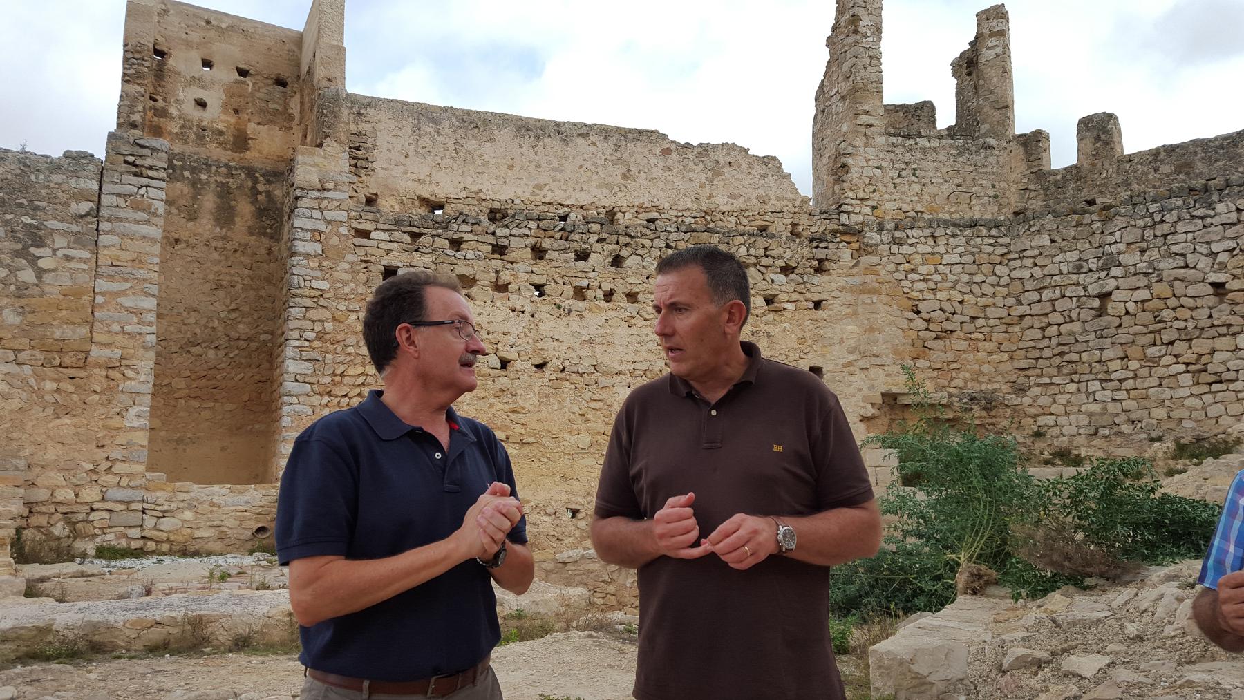 La Diputació destinarà 200.000 euros per conserva els castells de Xivert i Polpís