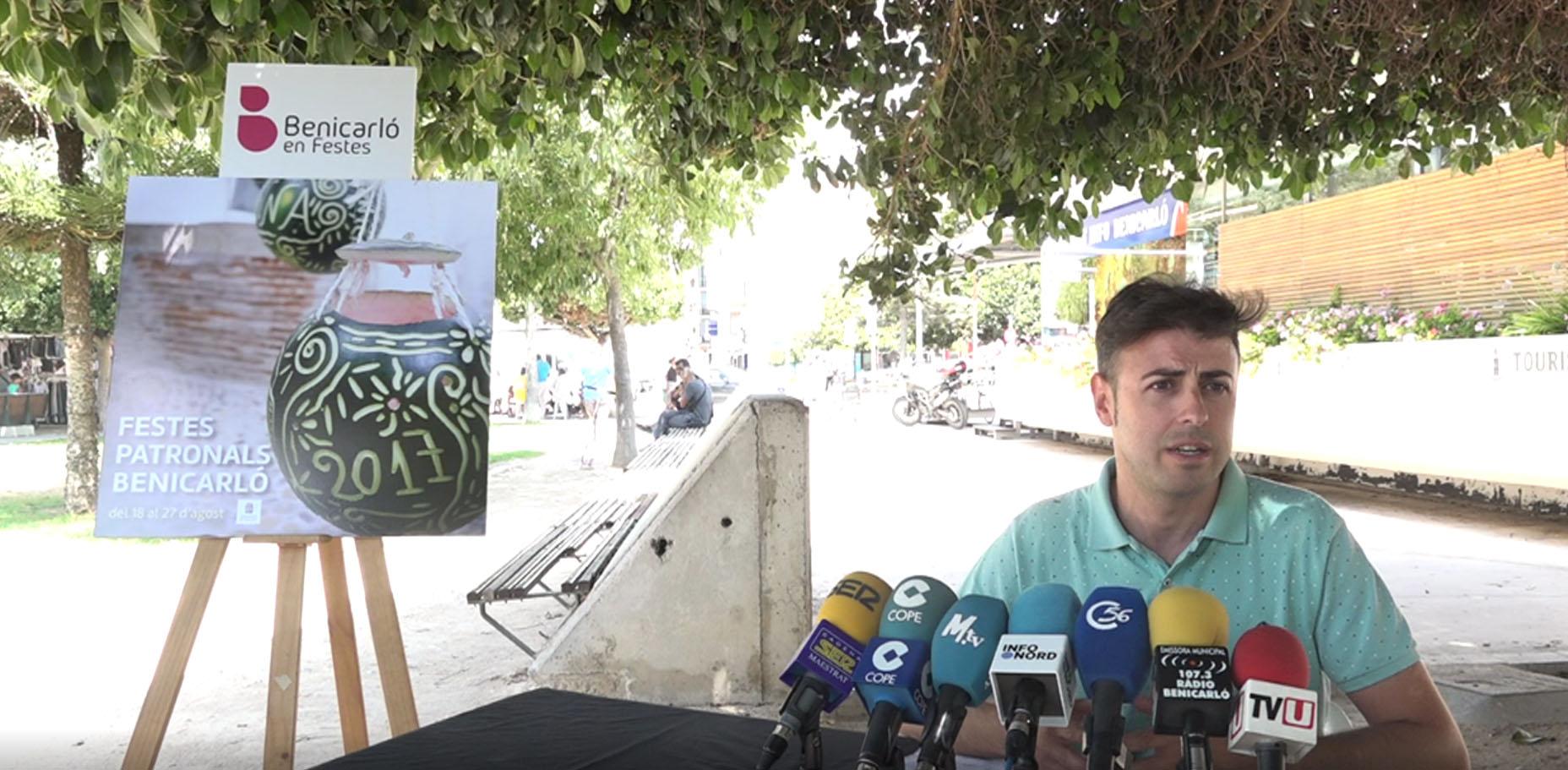 Benicarló avança el programa de les Festes Patronals