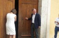 Benicarló, les autoritats municipals i autonòmiques inauguren la Capella de Sant Francesc