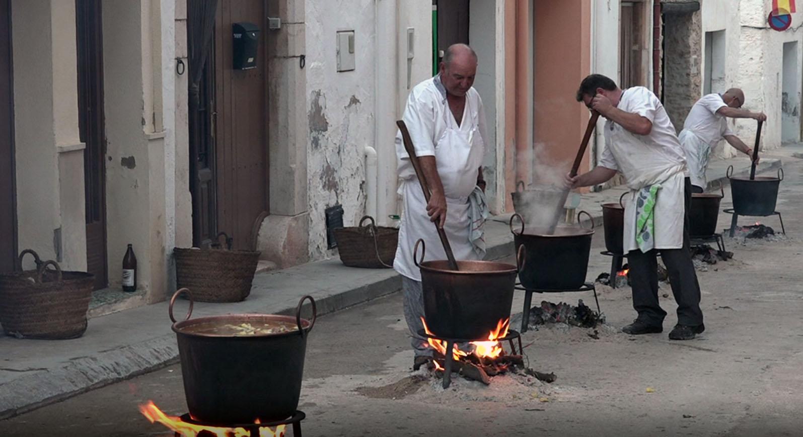 Sant Jordi, acaben les Festes Majors amb el tradicional sopar de germanor