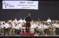 Rossell fa un homenatge als músics i directors en motiu del centenari de la Filharmònica Rossellana