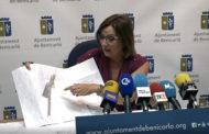 Benicarló; roda de premsa de l'alcaldessa de Benicarló 09/08/2017