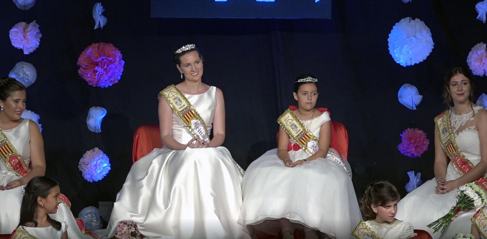 Càlig, comencen les Festes Patronals 2017 amb la presentació de les reines i la Cort d'Honor