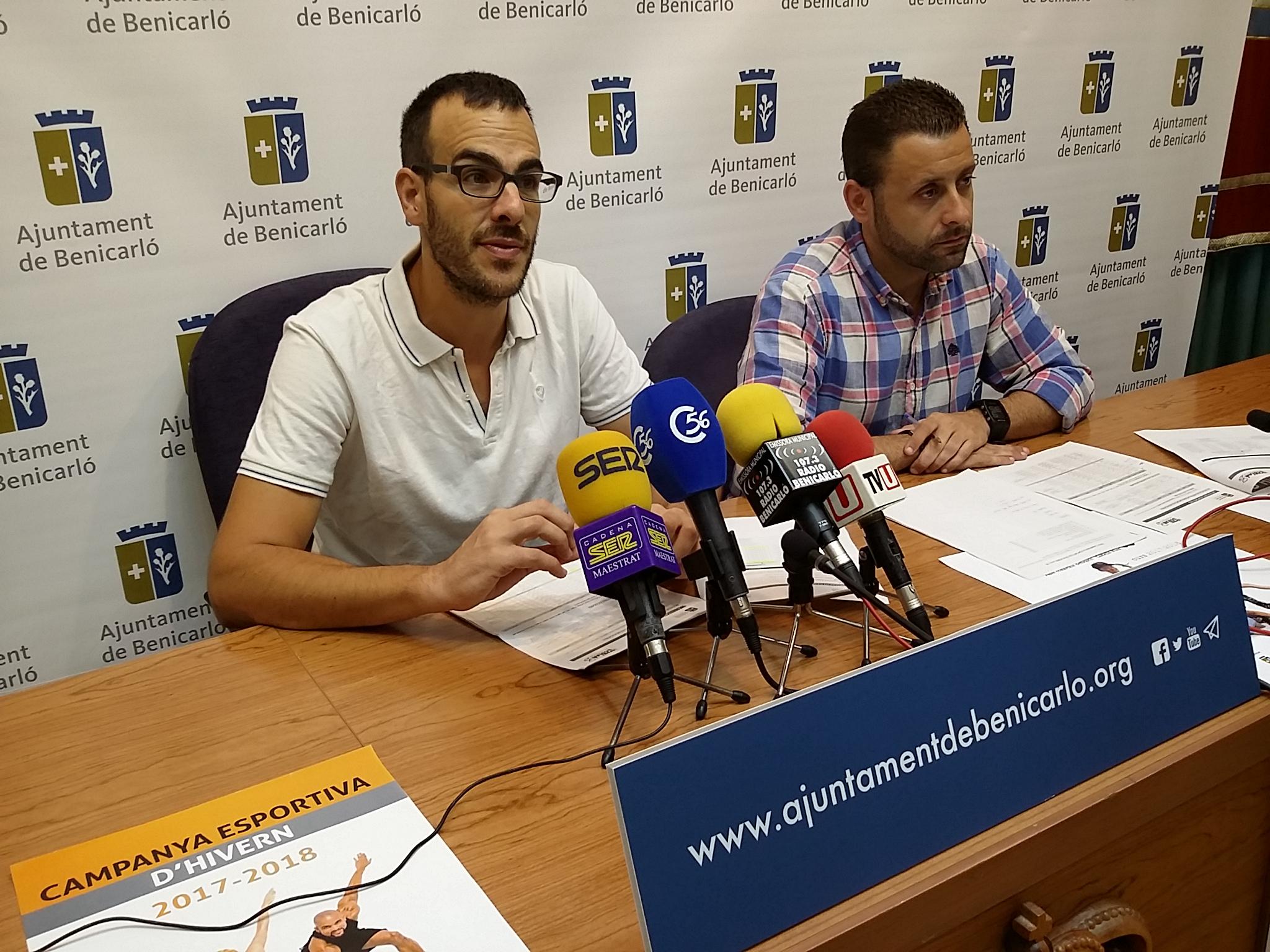 Benicarló presenta la nova Campanya Esportiva d'Hivern