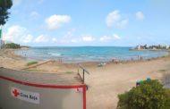 Alcalà, la platja de Les Fonts a Alcossebre s'obri de nou al bany