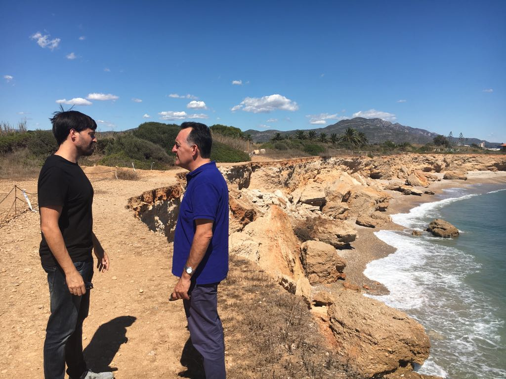 El PSPV exigeix a Costes que realitze accions per protegir el litoral de Vinaròs