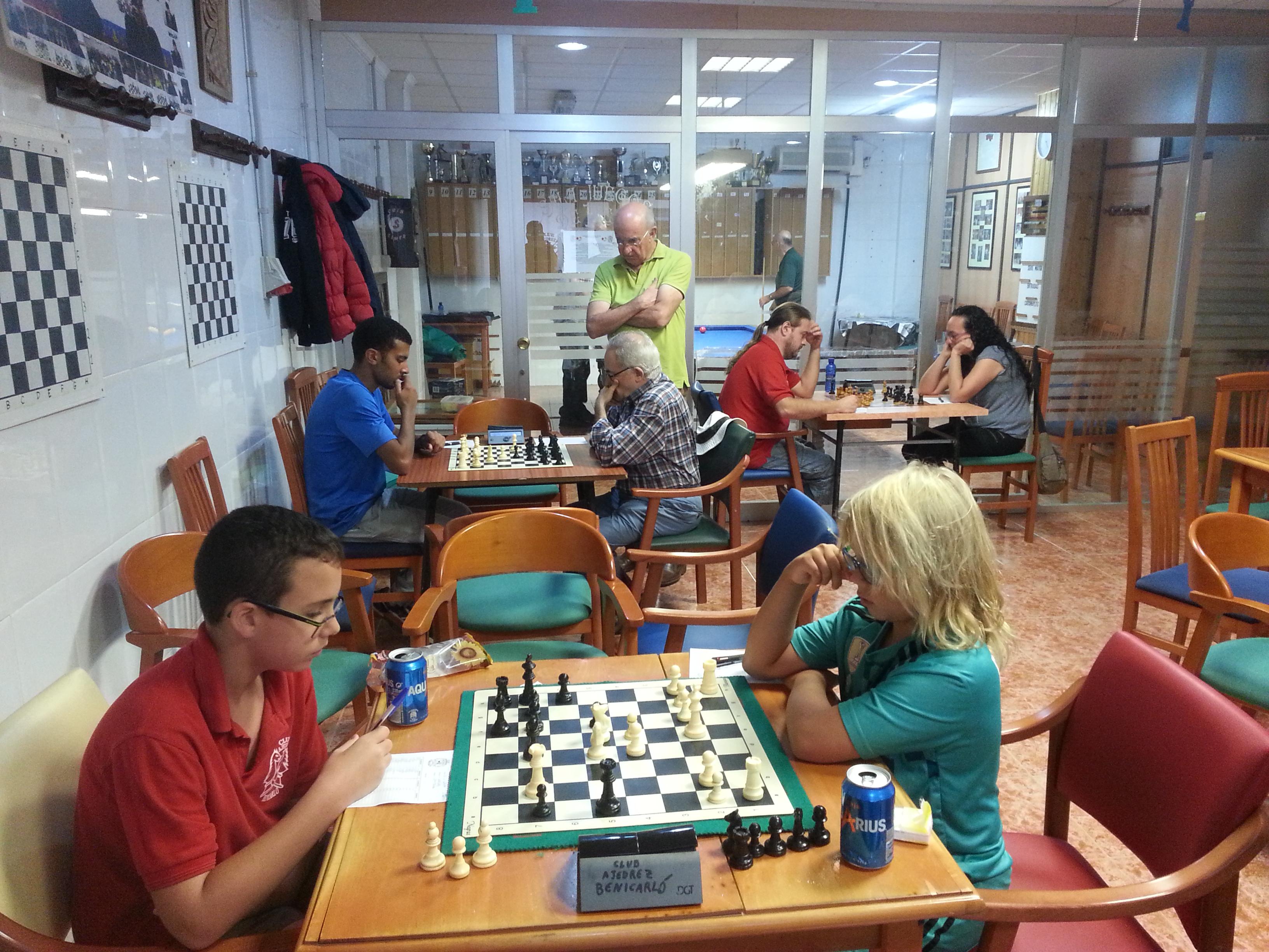 Benicarló, continua el Torneig Social d'Escacs 2017 amb la disputa de la segona ronda
