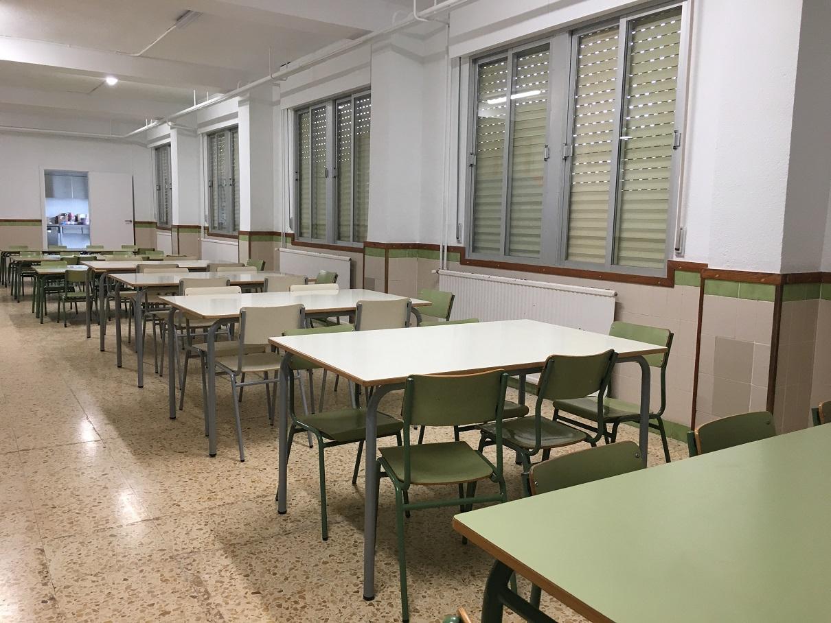 Càlig, el col·legi Felicinda Collell ofereix el servei de menjador escolar