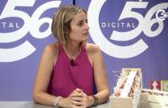 L'ENTREVISTA. María Agut, regidora de Cultura i Mauricio Calduch, secretari de l'Associació Tomata de Penjar d'Alcalà de Xivert-Alcossebre 061017