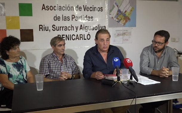 Benicarló, els veïns de la costa nord denuncien que el Pla General s'ha redactat sense escoltar la seva opinió