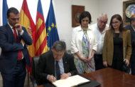 Peñíscola; visita institucional del president de la Generalitat Valenciana a Peñíscola 13/10/2017