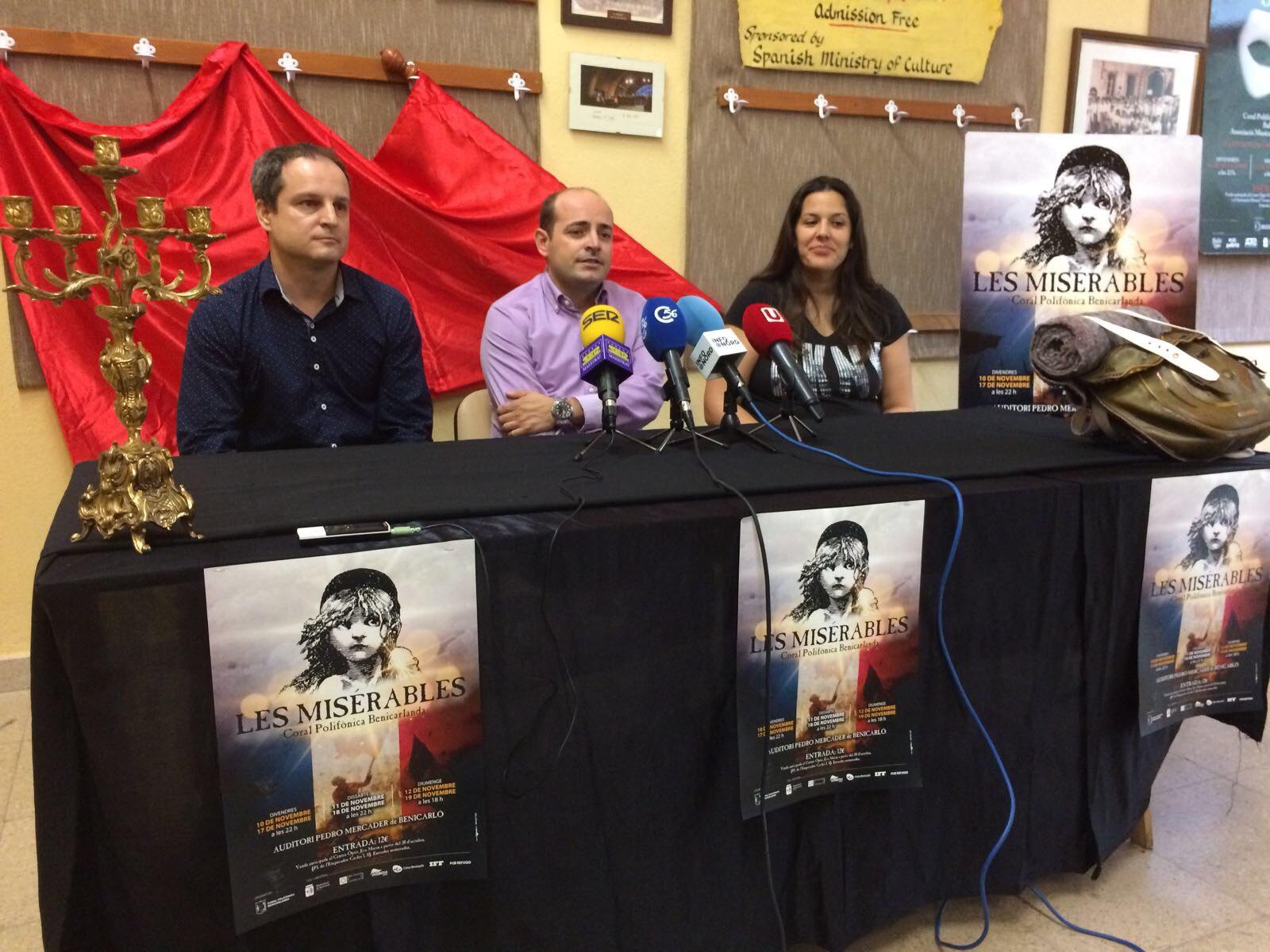 Benicarló, la Coral Polifònica representarà al novembre el musical