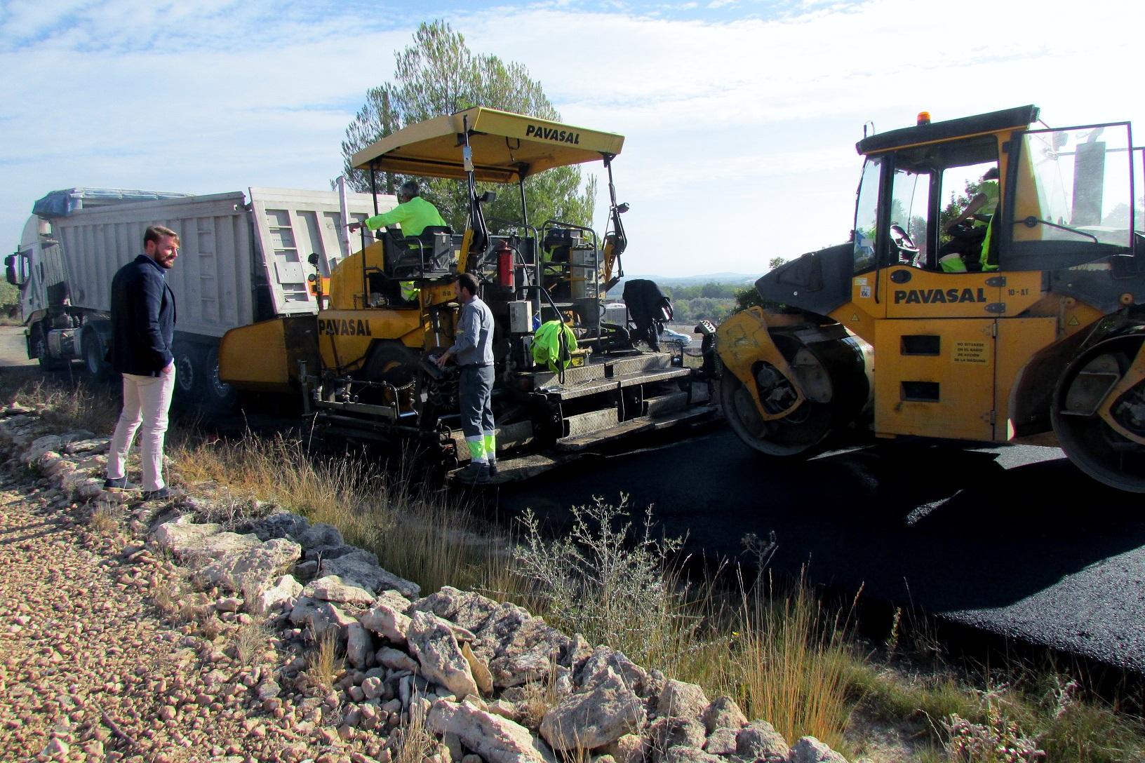 Sant Jordi, la Generalitat reparar els camins rurals del terme municipal