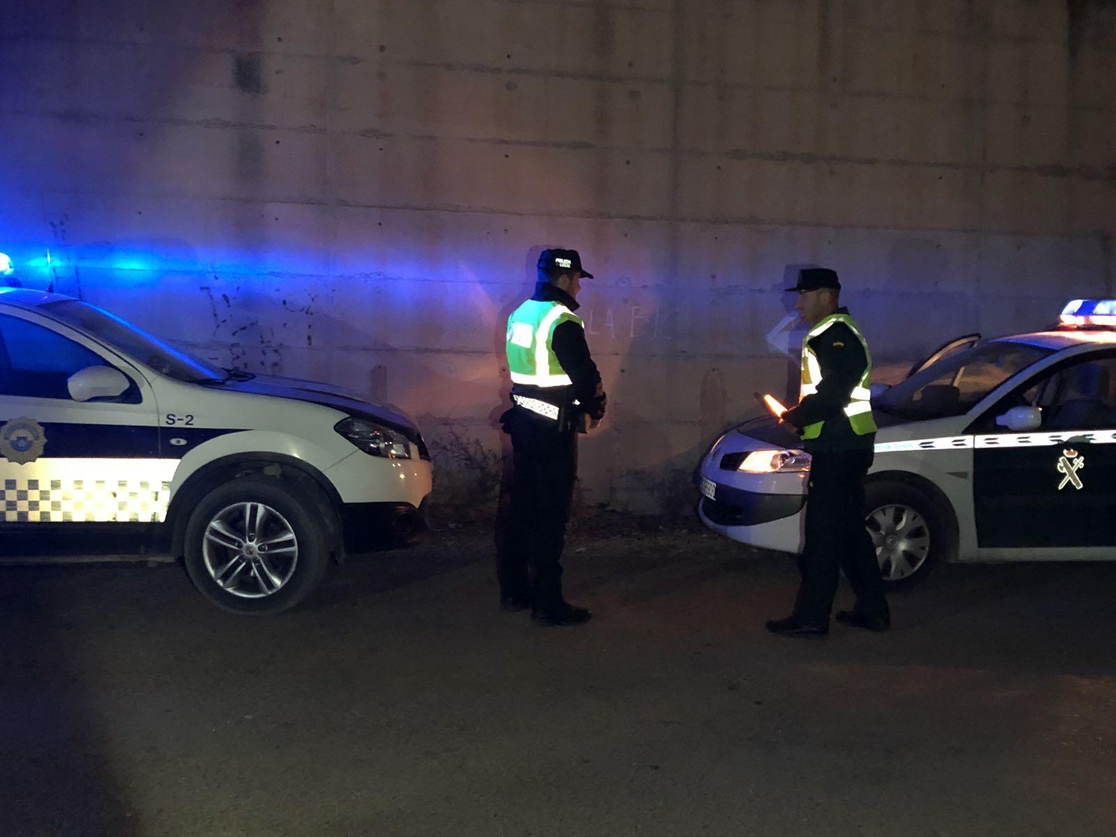 Alcalà, la Policia Local i Guàrdia Civil augmentaran els controls de vehicles en l'àmbit rural