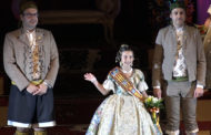 Benicarló exalta a la Fallera Major Infantil María Orero i la seva Cort d'Honor
