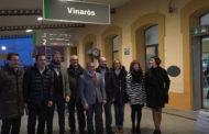 Vinaròs; El president províncial del PP valora l'augment dels trens en el Baix Maestrat 01/12/2017