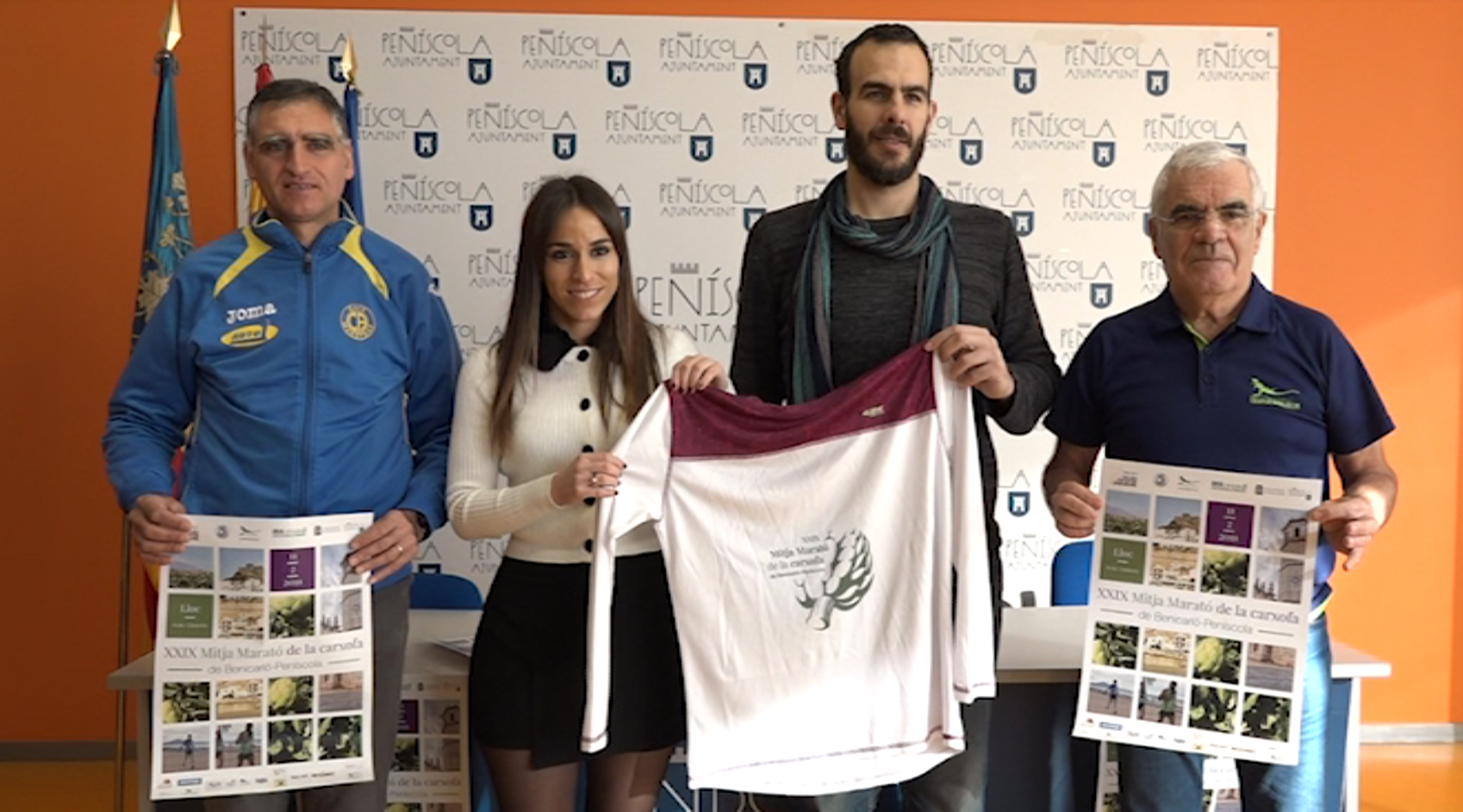 Benicarló i Peníscola acolliran l'11 de febrer la 29a Mitja Marató de la carxofa