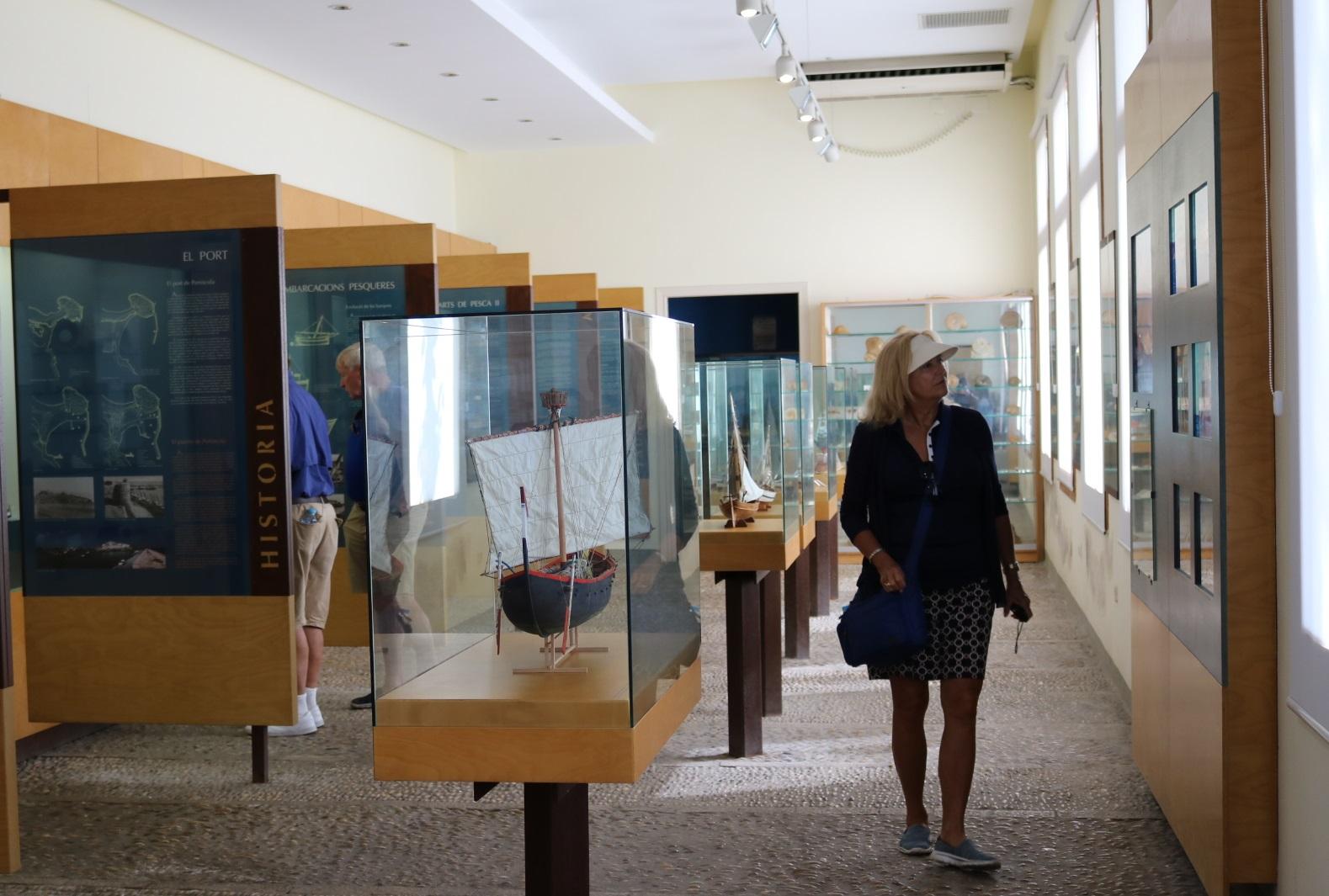 Peníscola, el Museu de la Mar aconsegueix gairebé 90.000 visites durant el 2017