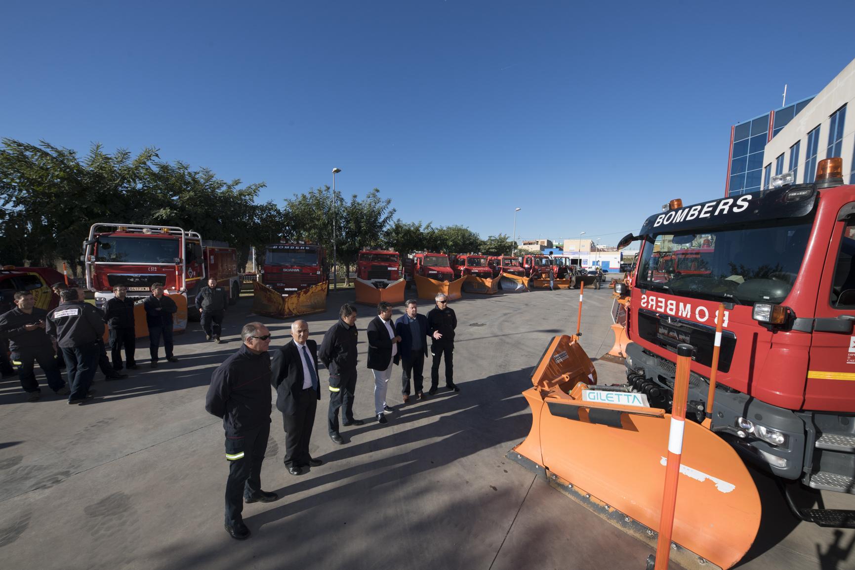 La Diputació reforça el servei dels bombers amb l'adquisició de dos llevaneus