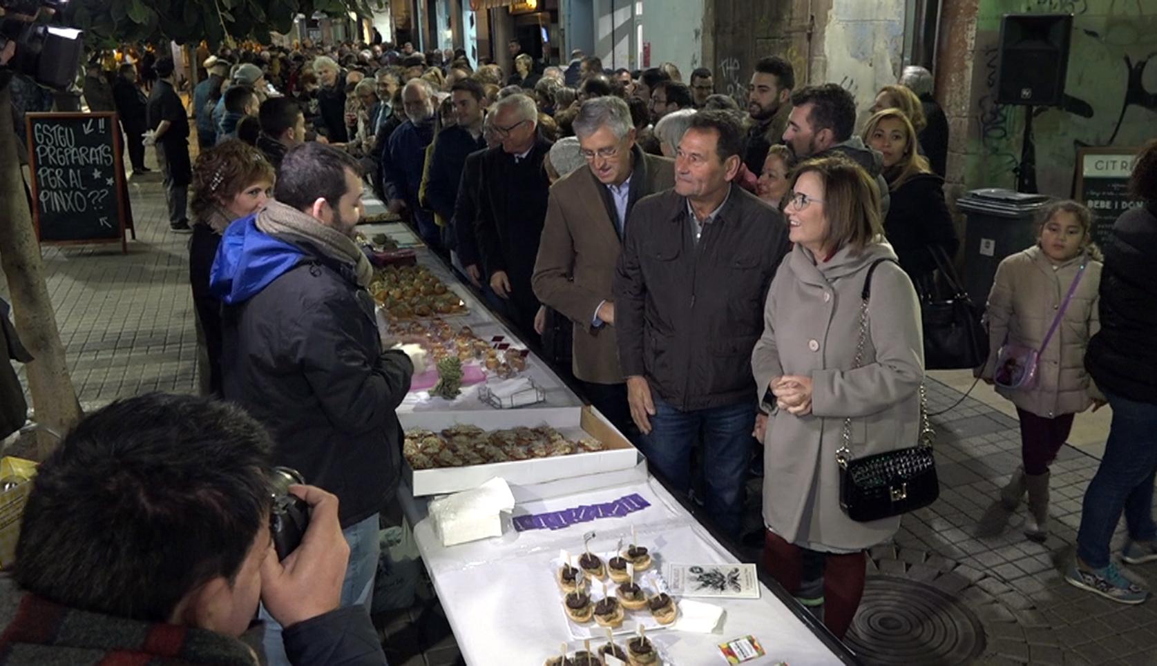 Benicarló, arrenca la 25a Festa de la Carxofa amb les Jornades del Pinxo