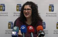 Benicarló, roda de premsa de la regidora de Joventut i Participació Ciutadana 31/01/2018
