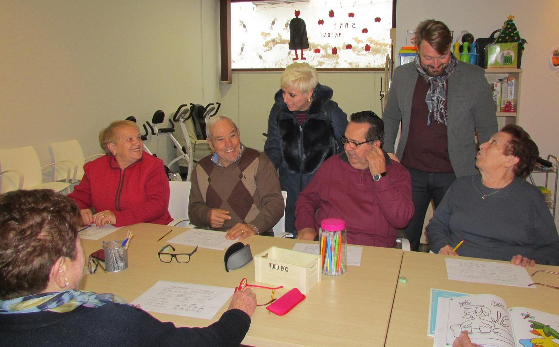 Sant Jordi, la diputada d'Acció Social comprova l'estat de les instal·lacions de la Unitat de Respir Familiar