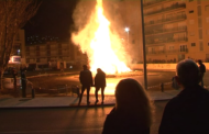 Peníscola; Encesa de la foguera de Sant Antoni 20-01-2018