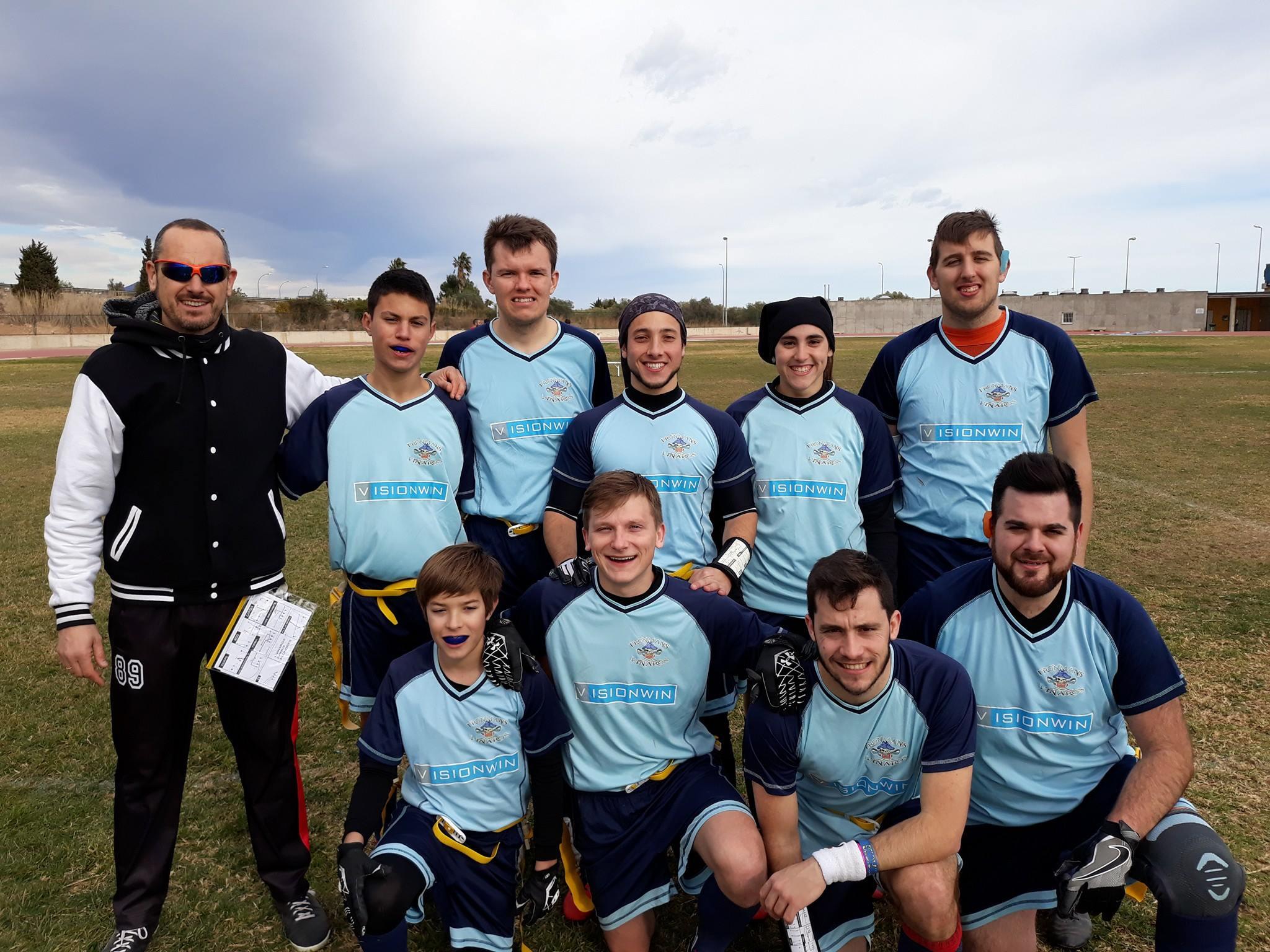 Vinaròs, els Ironmans es mantenen les esperances per accedir a la Final Four de la lliga Futbol Flag