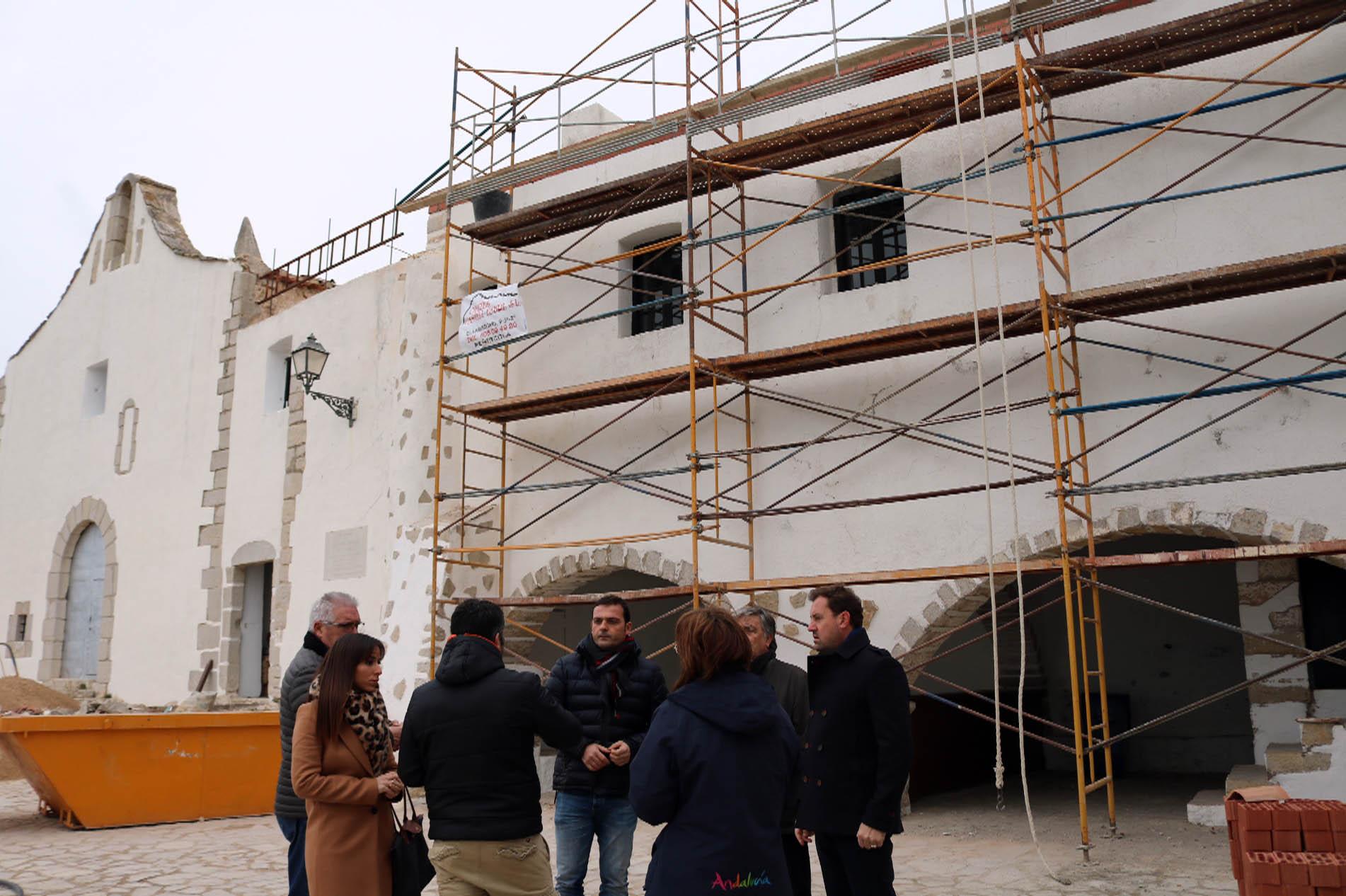 Peníscola inicia les obres de manteniment i conservació de l'ermita de Sant Antoni