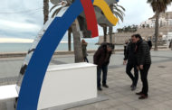 Peñíscola; presentació de la palmera solar per a la recarrega de mòbils 12/02/2018
