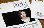 Benicarló; presentació del Cicle de Teatre de Primavera 13/02/2018