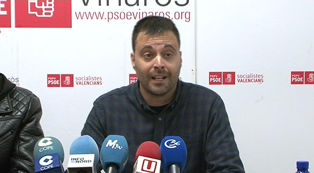 Vinaròs, el PSPV explica en roda de premsa les noves condicions de la zona blava
