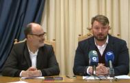 Sant Jordi; roda de premsa de la Mancomunitat de la Taula del Sénia 12-02-2018