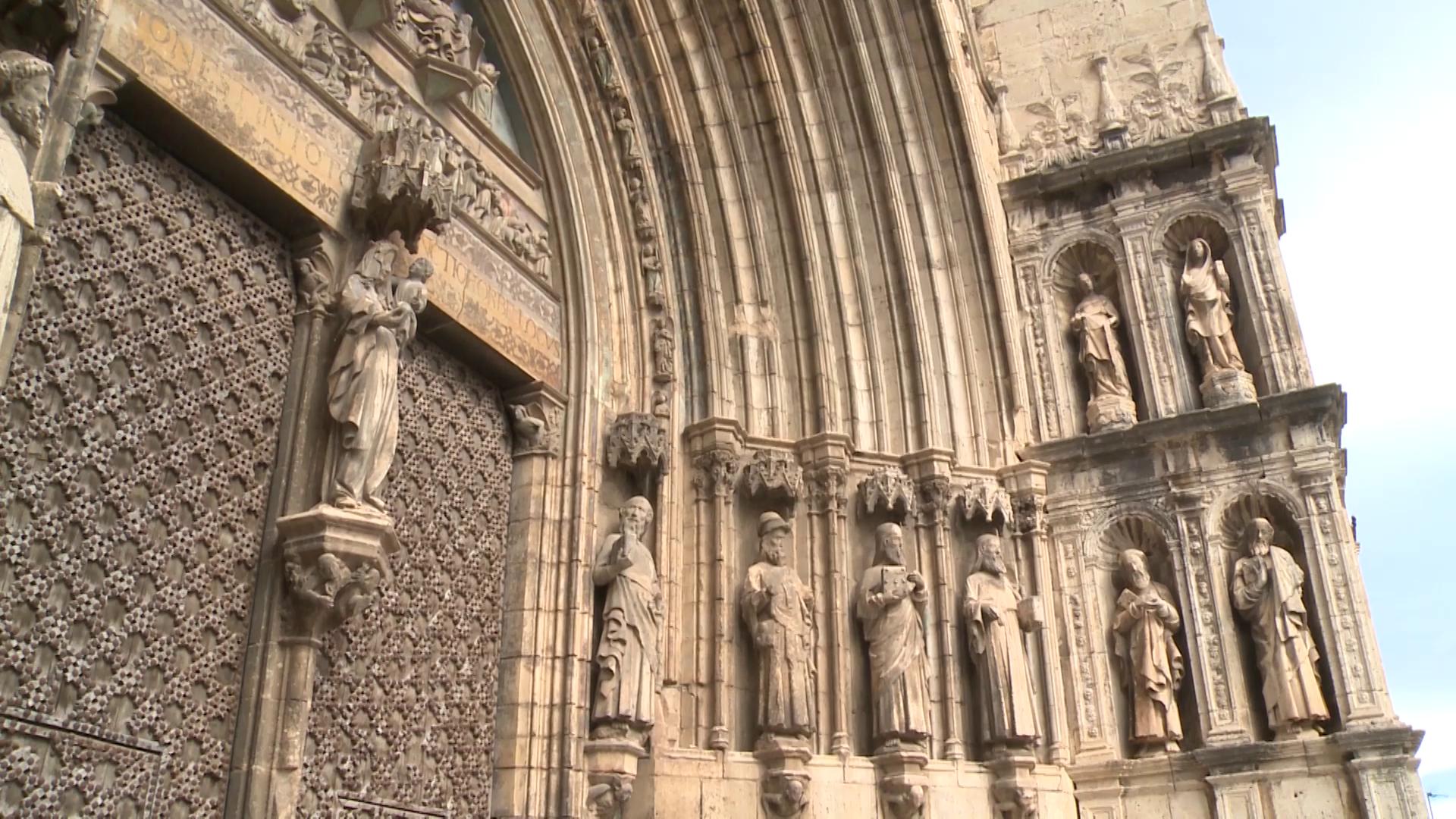Morella, la Generalitat invertirà 1 milió d'euros per restaurar la façana de l'església de Santa Maria la Major