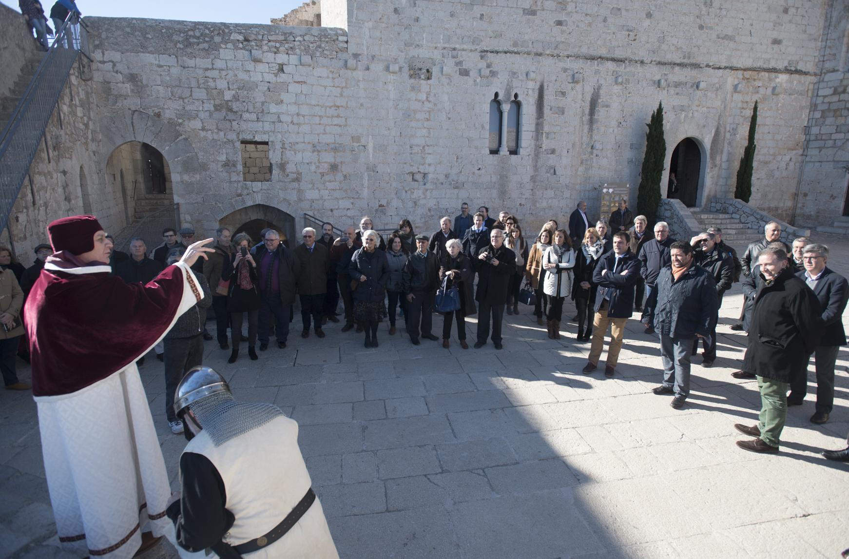 La Diputació comunica que el Castell de Peníscola ha duplicat el número de visitants