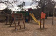 Càlig, renova el parc infantil del Paratge dels Socors