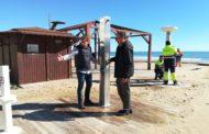 Peníscola, s'inicien les feines d'adequació de les platges de cara als primers turistes de la Setmana Santa