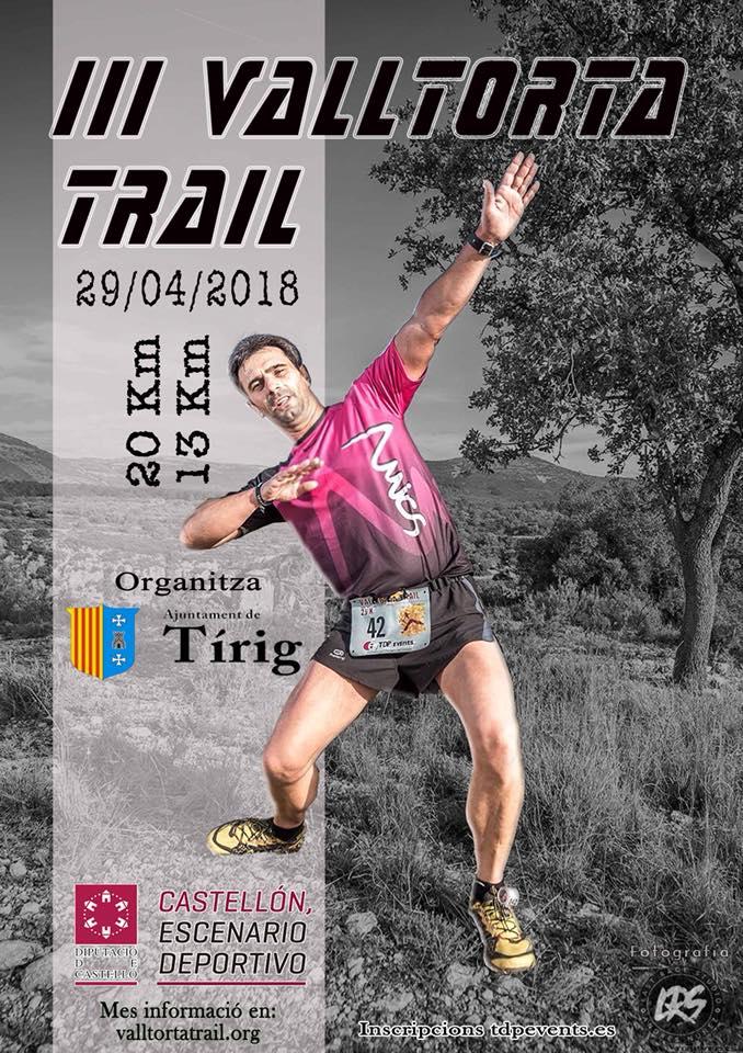 Tírig, s'obren les inscripcions per participar en la 3a Valltorta Trail